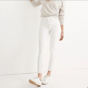 Madewell 9 high rise skinny jeans